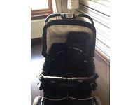 Emmaljunga twin pram/stroller