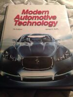 Modern Automotive Technology 7th Edition.
