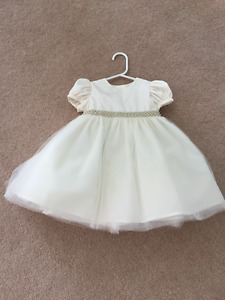 Special occasion baby dress with ballerina - 12 months