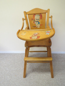 1950's baby highchair