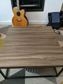 Mid century walnut colour coffee table