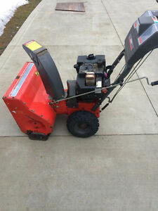 "NOMA 8 HP 25"" CUT SIGNATURE SERIES SNOWBLOWER"
