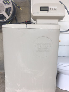 Water softener and toilet for sale