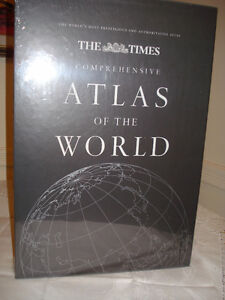 The Times Comprehensive Atlas of the World -Gift Educational,New