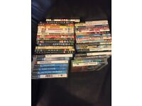 MIXTURE OF DVD'S, PS2 & PS3 GAMES