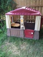 Fisher price outdoor cottage