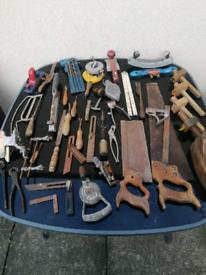 Vintage tools joblot