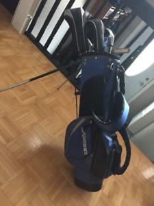 Ensemble de golf junior droitier pour enfant 8 à 10 ans