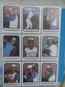 1981-82-83-SYRACUSE CHIEFS-Complete Player Sets.