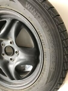 selling winter tires with rims  for Toyota sienna
