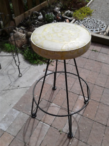 Stool (1950s) Wrought Iron Stool