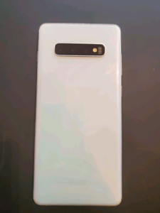 Mint prism white 128gb  s10 plus w/extended warranty