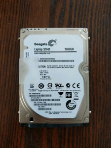 Seagate Laptop SSHD 1TB - MacOSX installed
