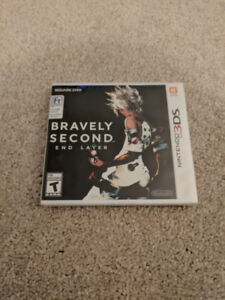 Bravely Second End Layer NEW Nintendo 3DS