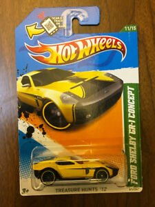 Hot Wheels 2011 Treasure Hunt. Ford Shelby Concept.