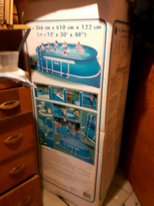 12 x 20 inflatable pool  SOLD