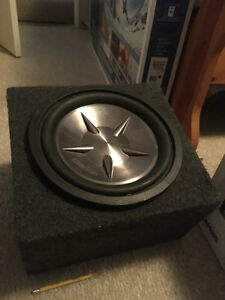 """$100 OBO 12"""" Clarion subwoofer with box"""