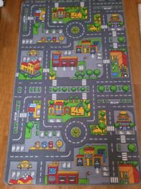 Playmat Road print rug