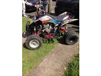 Raptor 250cc quad with 280 big bore kit fitted