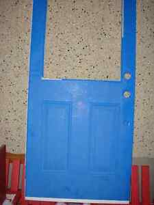 "31 3/4"" x 79"" Or the new 32""x80"" Exterior door for sale Strathcona County Edmonton Area image 1"