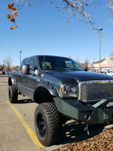 2005 f350 super duty  8 inch bds lift studded /deleted