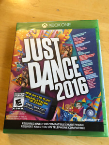 XBOX One Just Dance 2016.  Brand new. never opened.