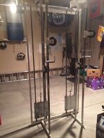 Hanoun double pulley exercise unit