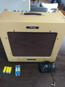 peavey delta blues tube amp + footswitch + new tubes