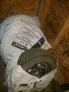 Winter tires and rims 5x114.3 bolt pattern