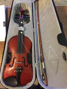Used Violin with Hardshell Case