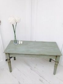 Duck Egg Blue Coffee Table