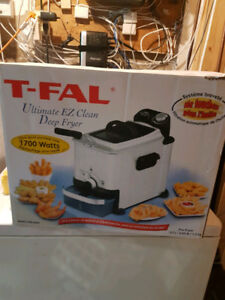 T-Fal Ultimate EZ Clean Compact Deep Fryer