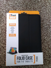 Brand new tablet folio case for 7-8 inch tablets