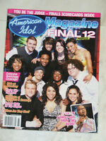 2007 American Idol magazine with profiles of final 12 singers