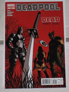 Deadpool#'s 50, 51, 52, 53 & 54 complete story! comic book