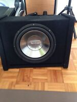 "12"" sub infinity reference and amplifier 140$ NEGO"