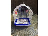 Medium bird cage and toys