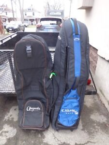 two Golf travel bags