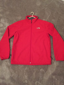 Mens North Face soft shell jacket Large