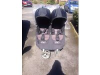 City mini double buggy with extras