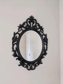 Black Gothic Style Mirror