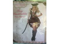 Women's Pirate Halloween Costume Size 10-12