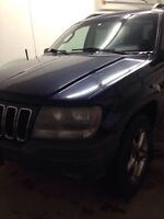 Safetied 2002 Jeep Grand Cherokee