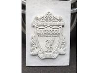 Liverpool FC wall plaque grave? Concrete very heavy