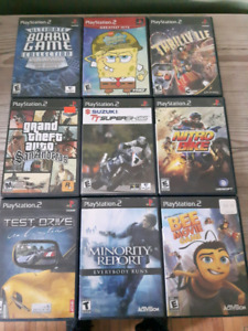 Ps 2 and ps3 games