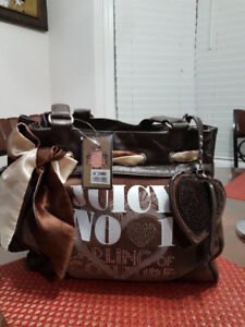Authentic Juicy Couture Bag On Sale(FREE CHARM WITH PURCHASE!!)