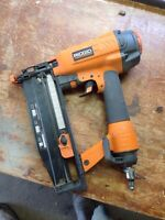 Ridgid 16 gauge finishing nailer