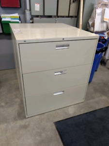 HON lateral filing cabinets