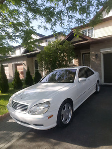 2001 Mercedes Benz s430 amg in mint condition with low km