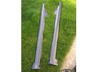 Audi A6 2004 estate, sil covers, rear part